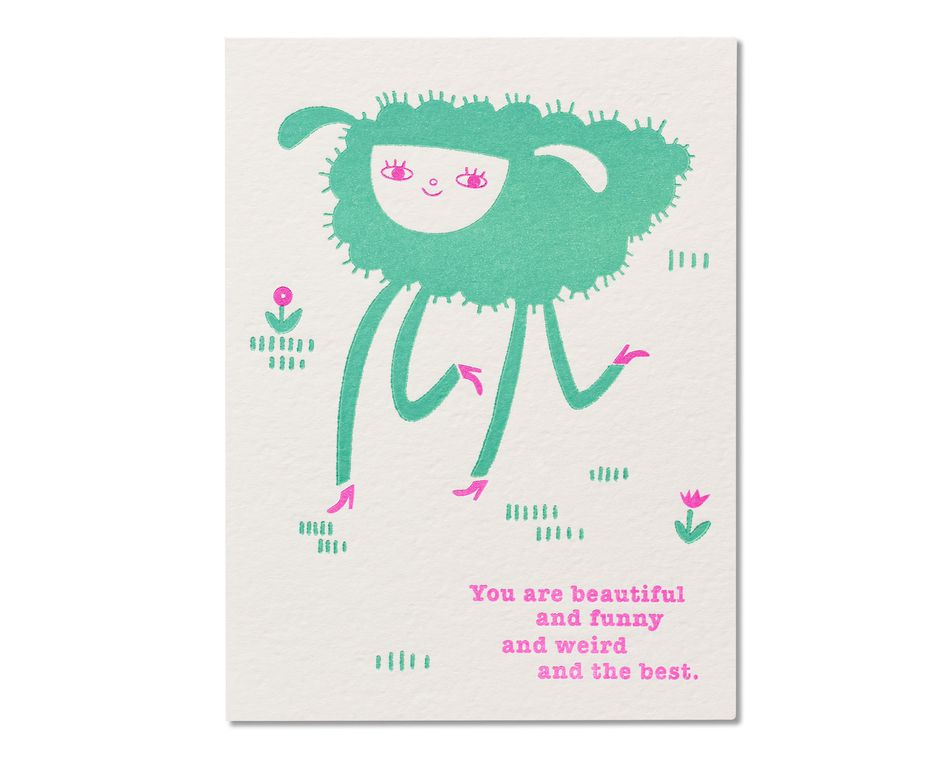 Beautiful Funny Weird Birthday Card For Daughter American Greetings
