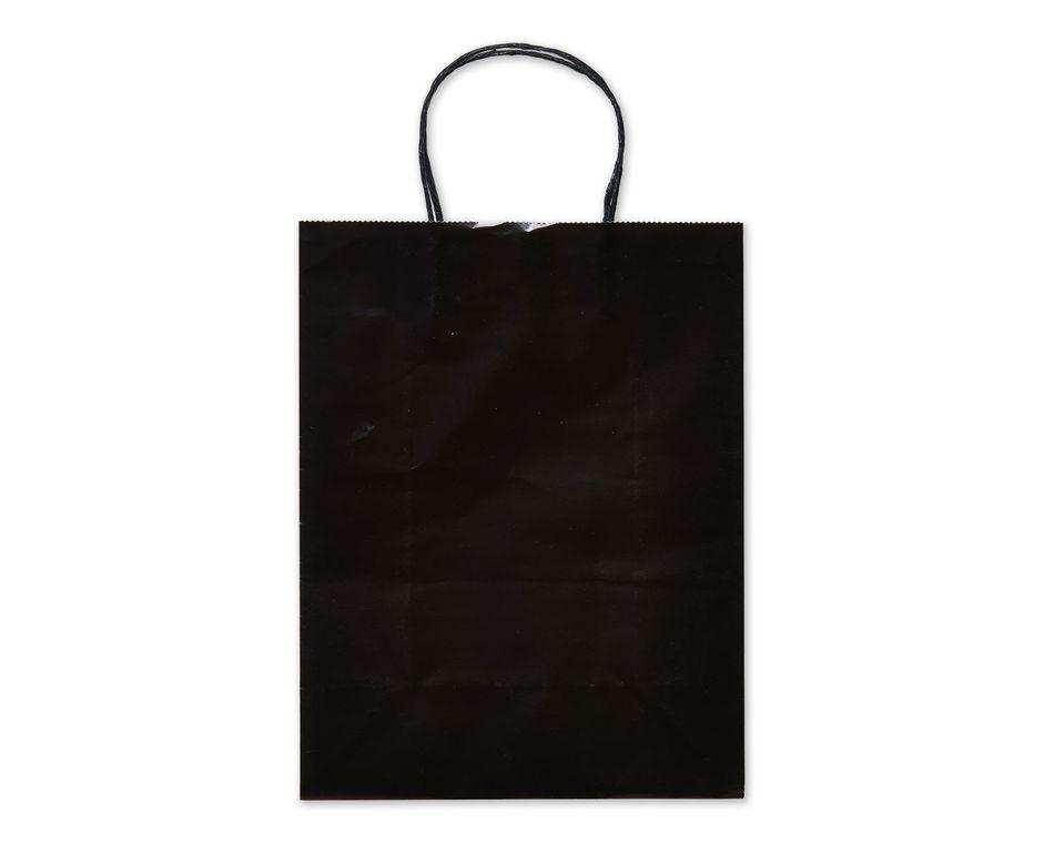 Medium Black Gift Bag