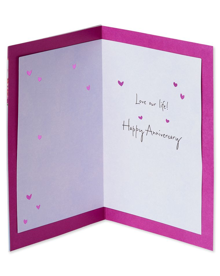 Lucky Wife Anniversary Card for Husband