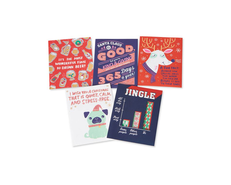 Christmas Card Bundle 5 Count American Greetings