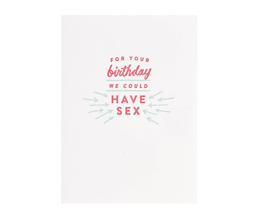 We Could Have Romantic Birthday Card