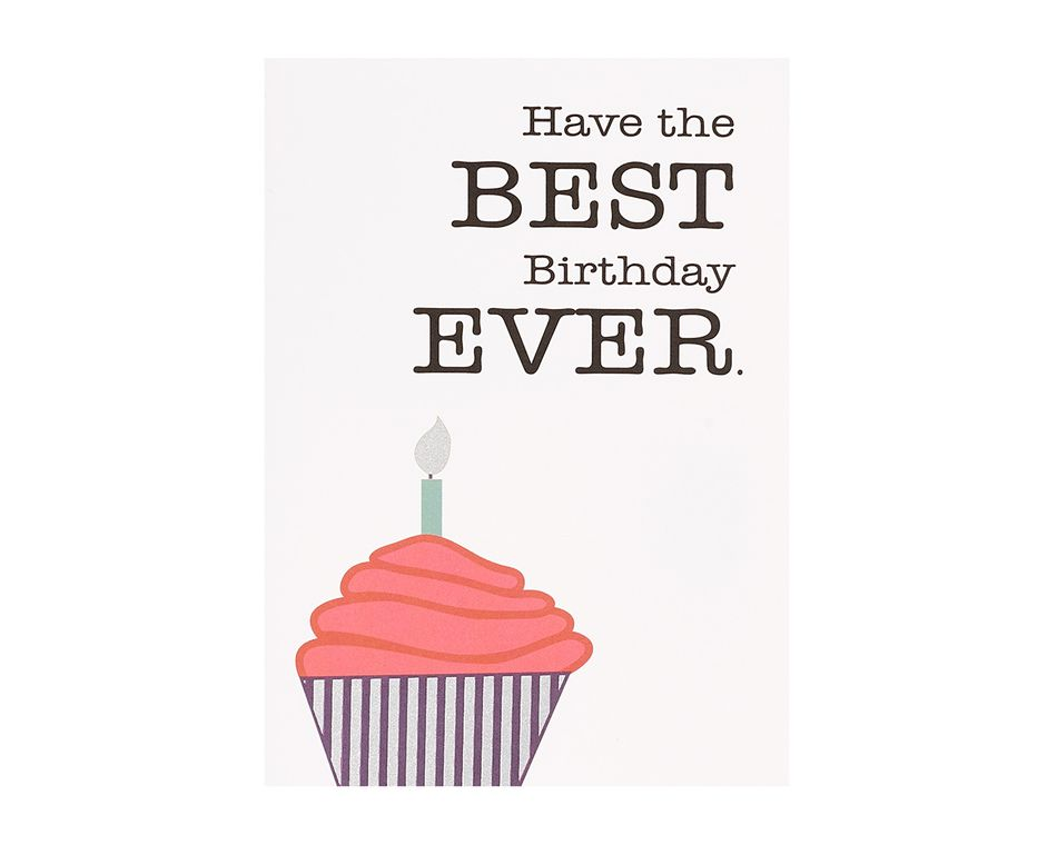 Best Birthday Ever Birthday Card
