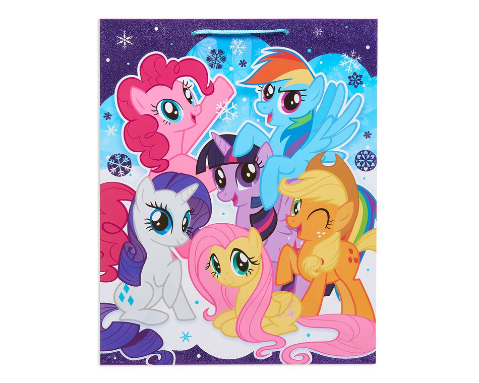 large my little pony christmas gift bag - Large Christmas Gift Bags