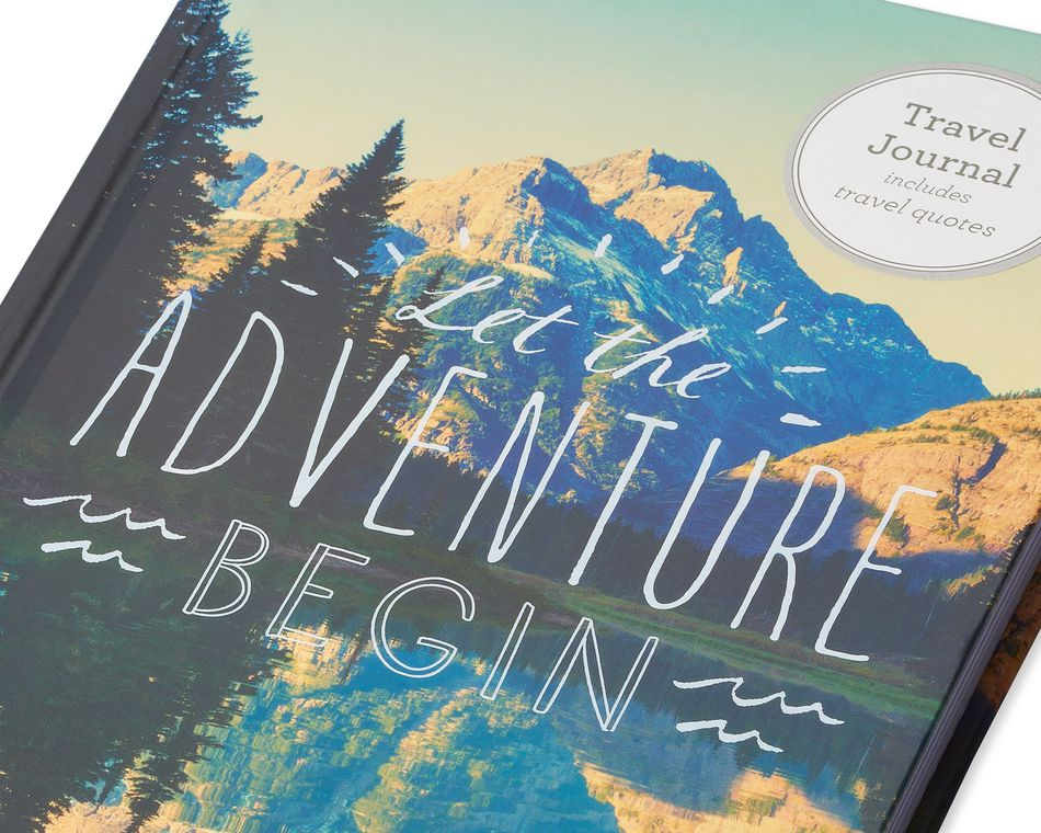Eccolo Adventure Travel Journal