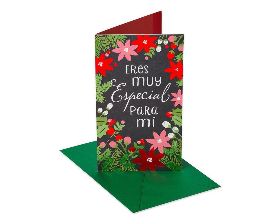 Muy Especial Christmas and Feliz Navidad Card