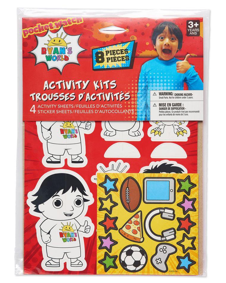 Ryan's World Activity Kit