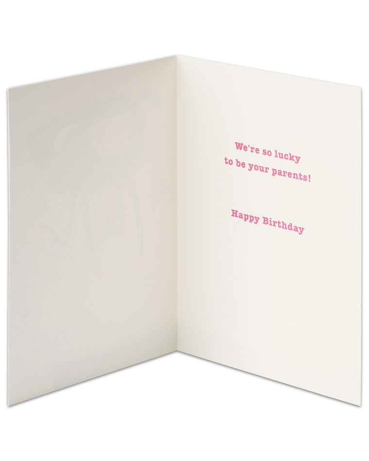 Beautiful Funny Weird Birthday Card