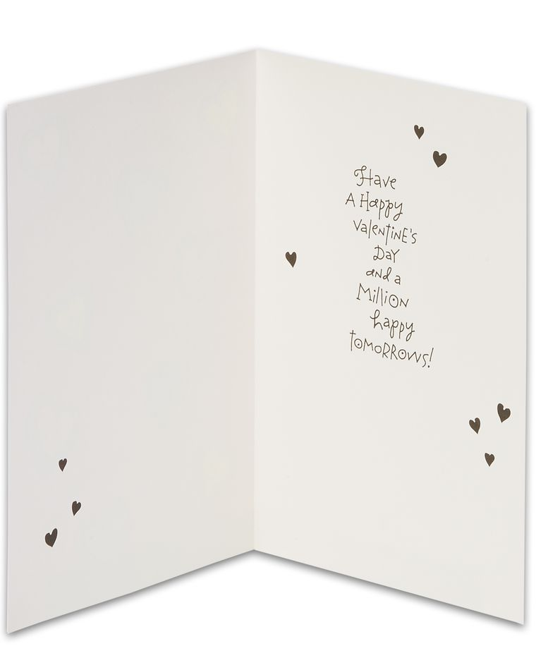 Happy Hearts Day Valentine's Day Cards, 6-Count