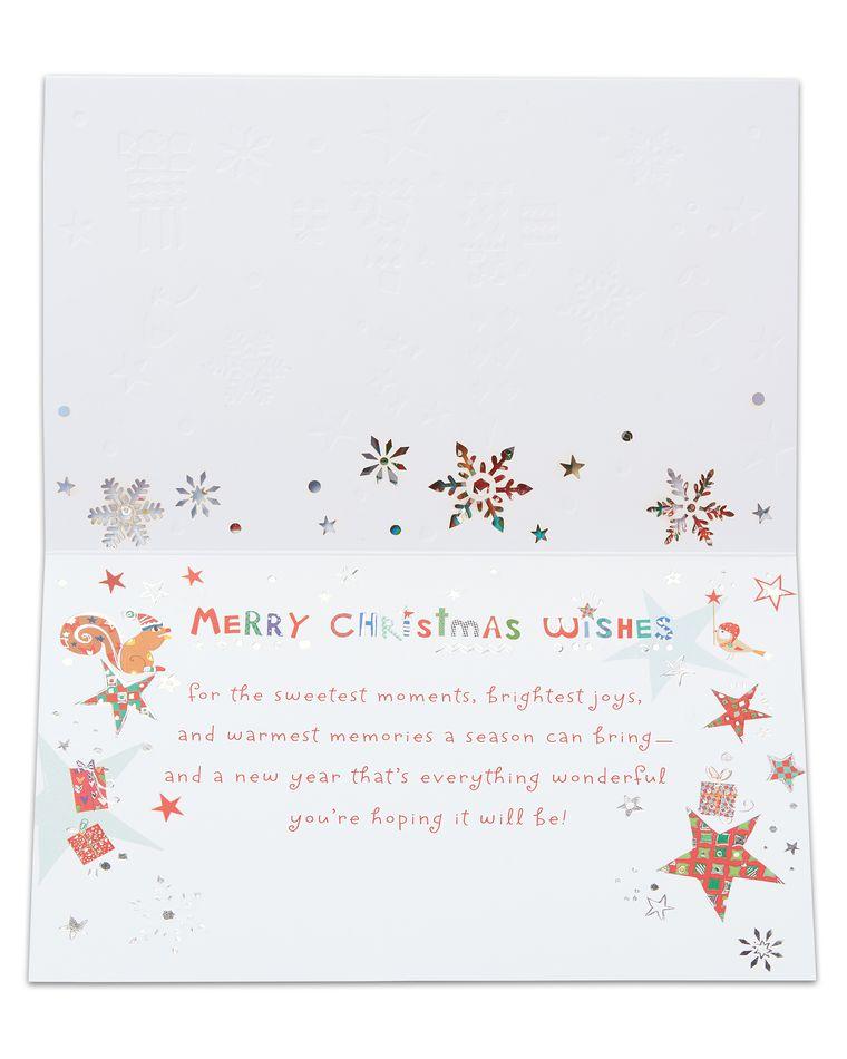 Christmas Wishes Christmas Card