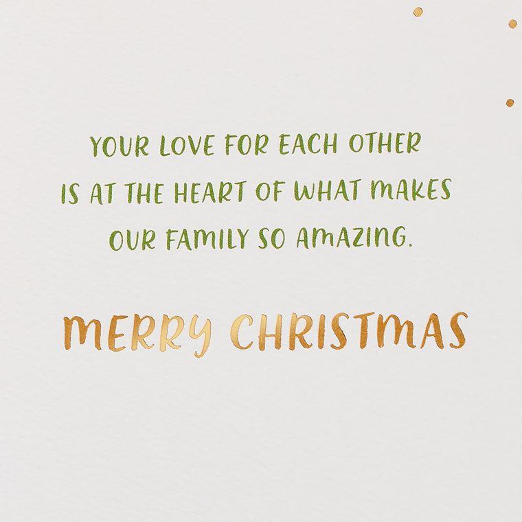 Parents Like You Christmas Card