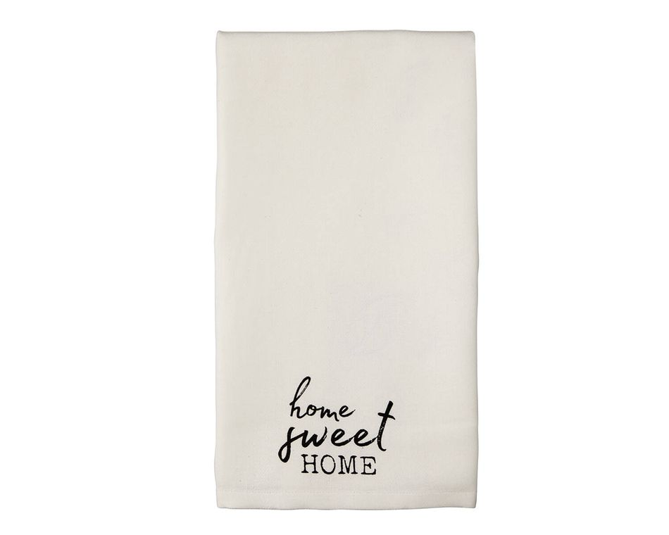 Mud Pie Home Sweet Home Towel