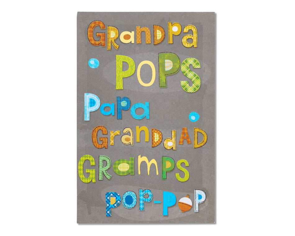 love father's day card for grandpa