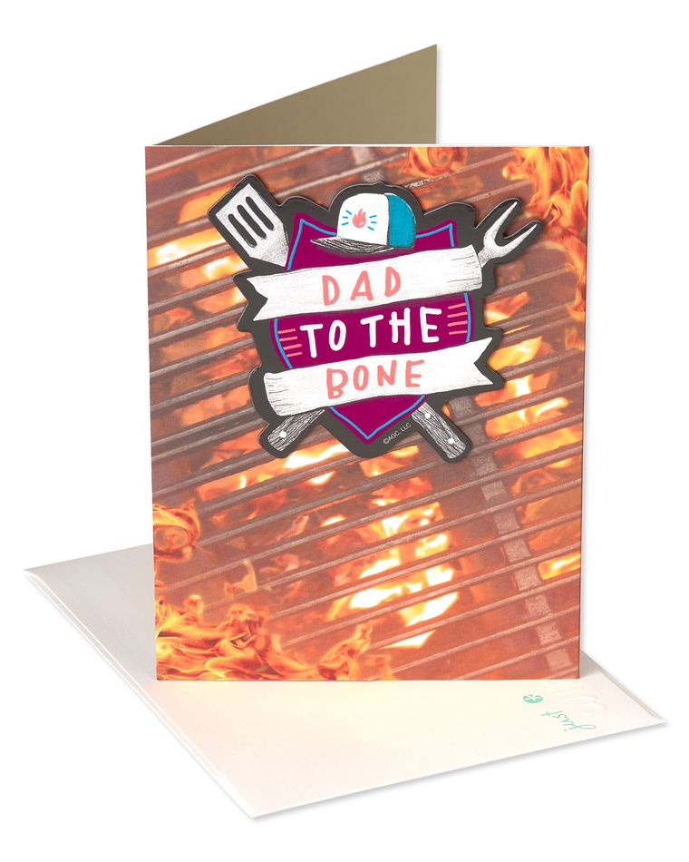 Grill Father's Day Card