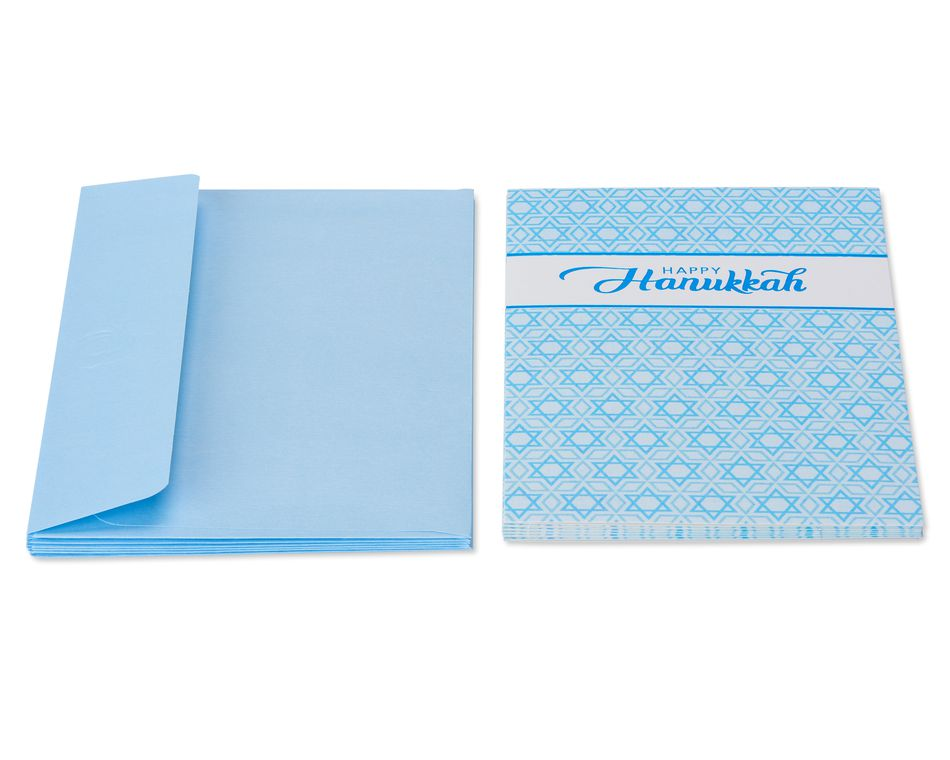 Happy Hanukkah Card, 6-Count