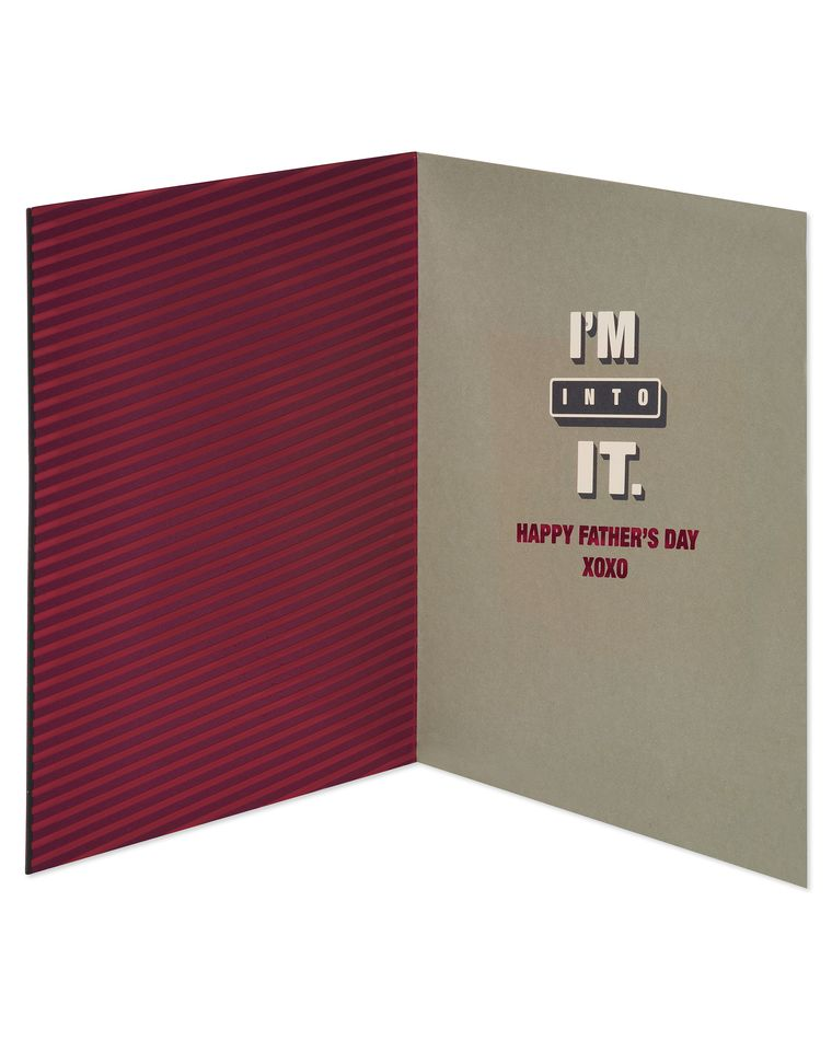 Funny Dad Bod Father's Day Card for Husband