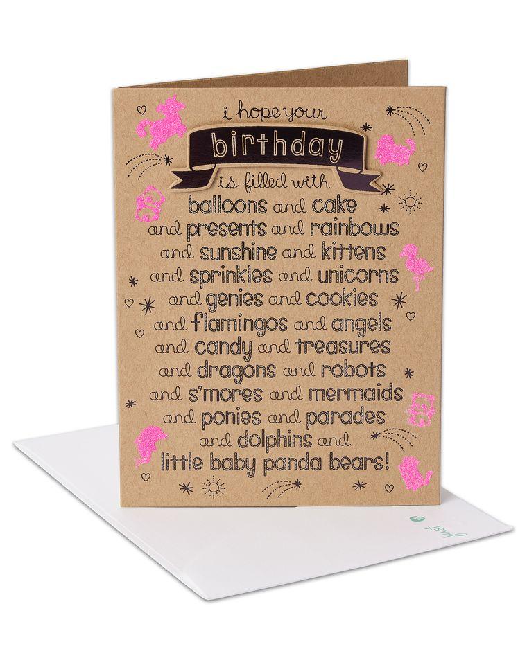 baby panda bears birthday card