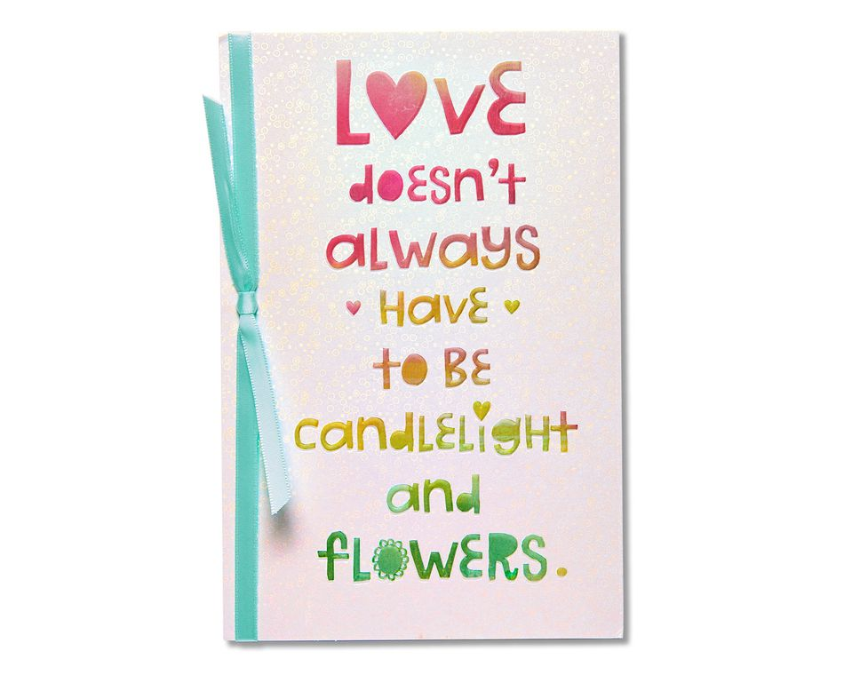 perfect romantic card
