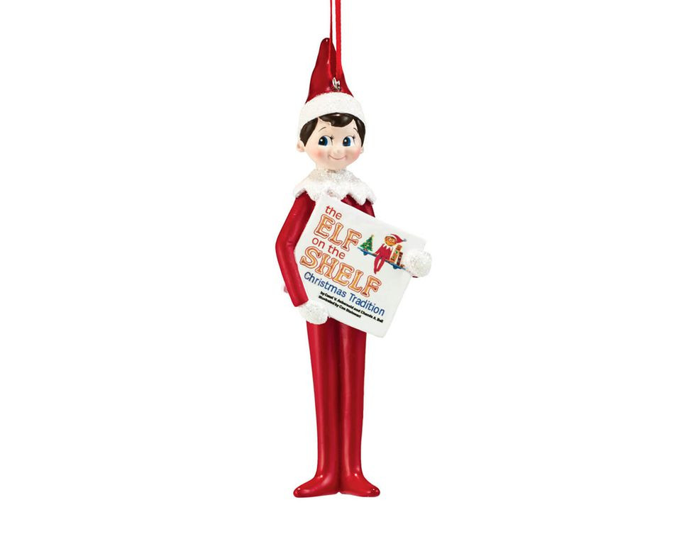 Elf on the Shelf® Reading Ornament