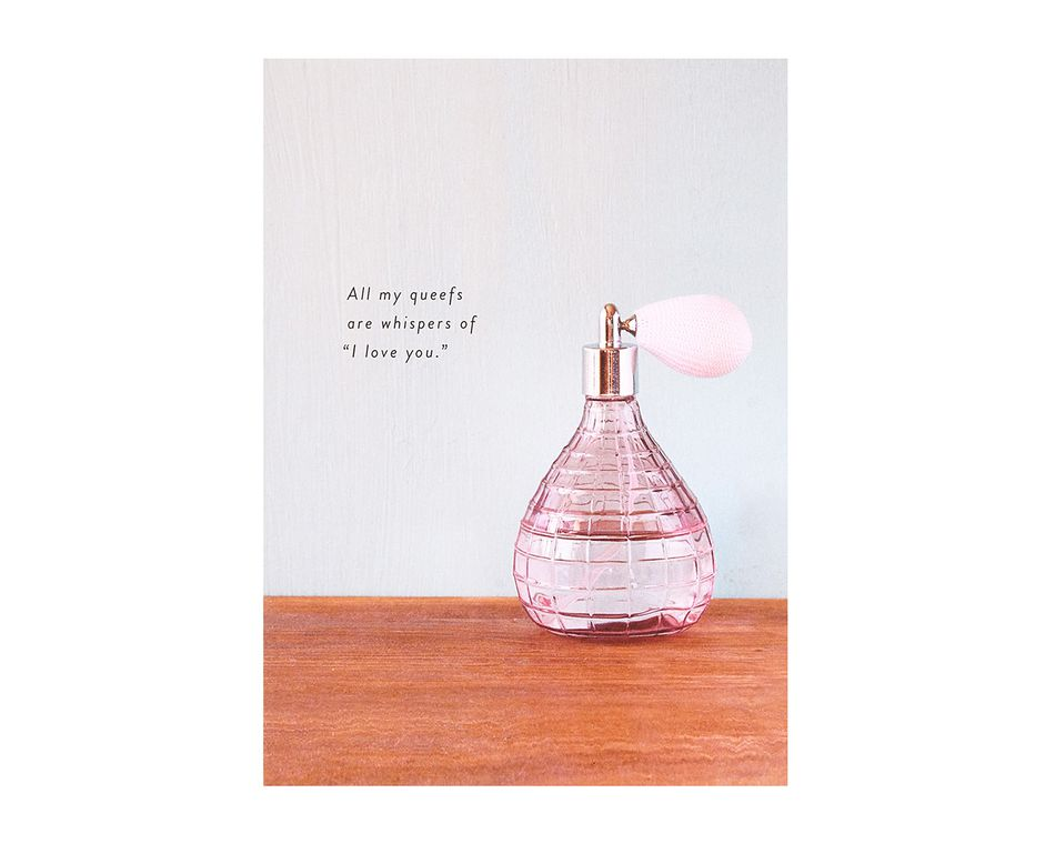 Whispers Romantic Birthday Card For Him