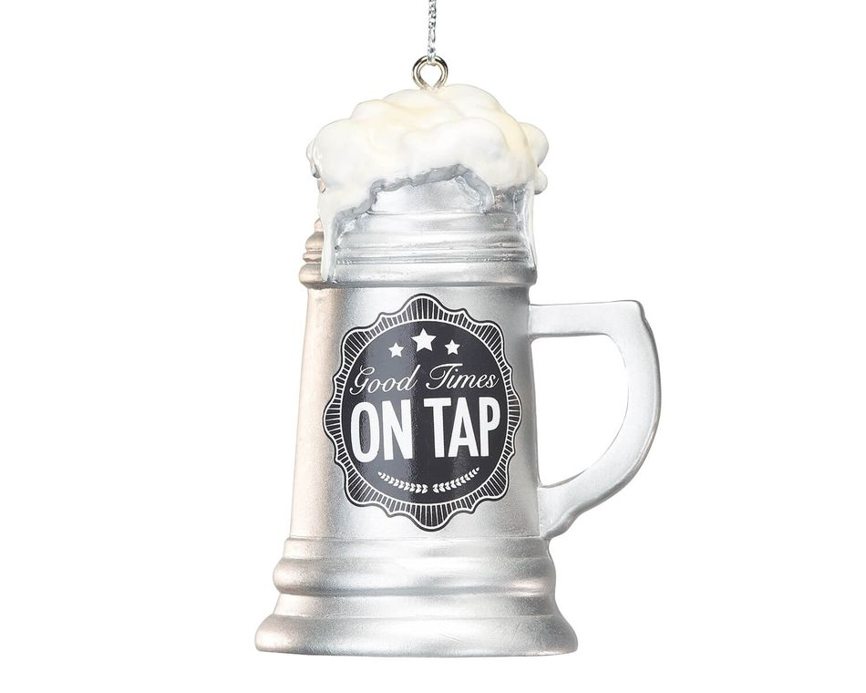 Beer Mug Christmas Ornament
