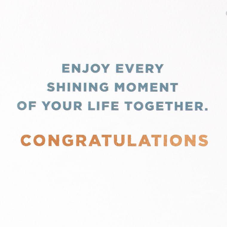 Forever Congratulations Card