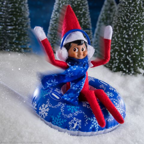 The Elf on the Shelf® Claus Couture Totally Tubular Snow Set