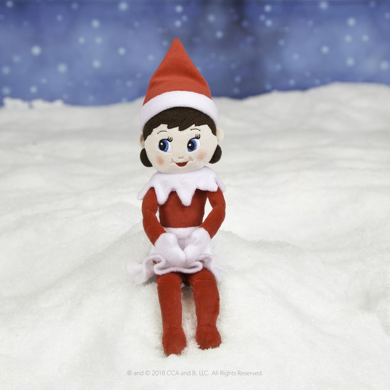 The Elf on the Shelf® Plushee Pal® Snuggler, Girl