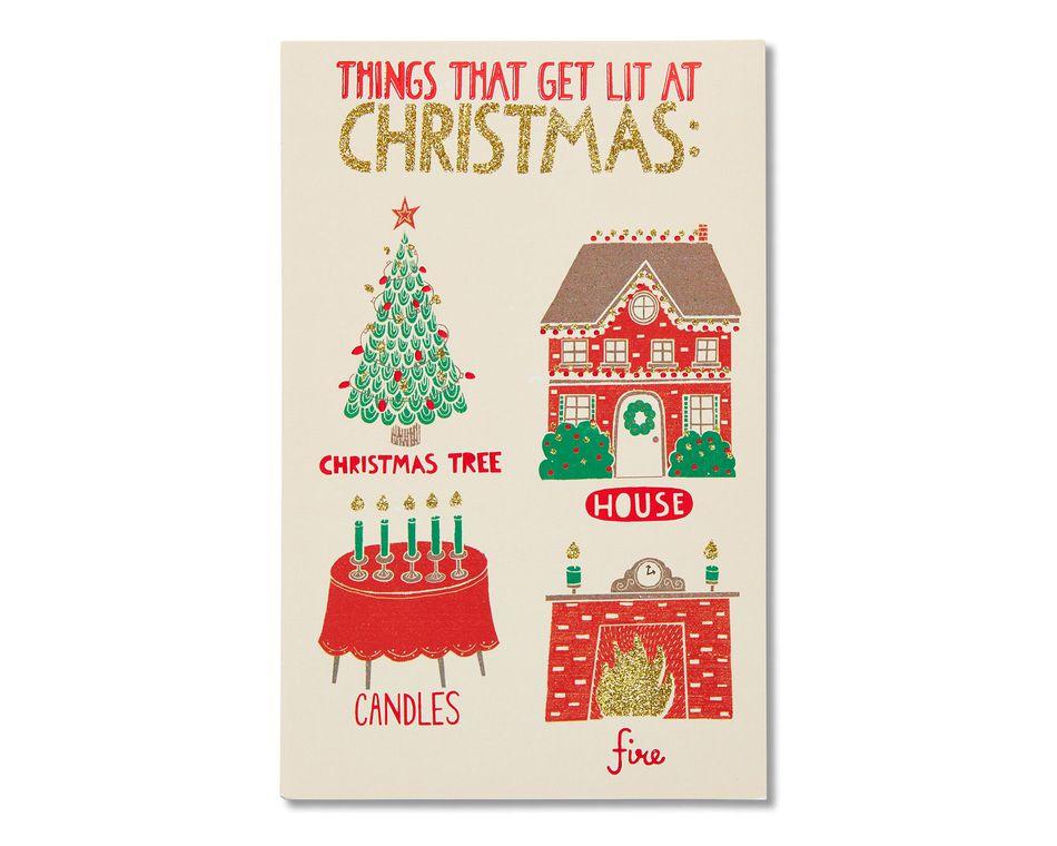 Lit christmas card american greetings lit christmas card m4hsunfo