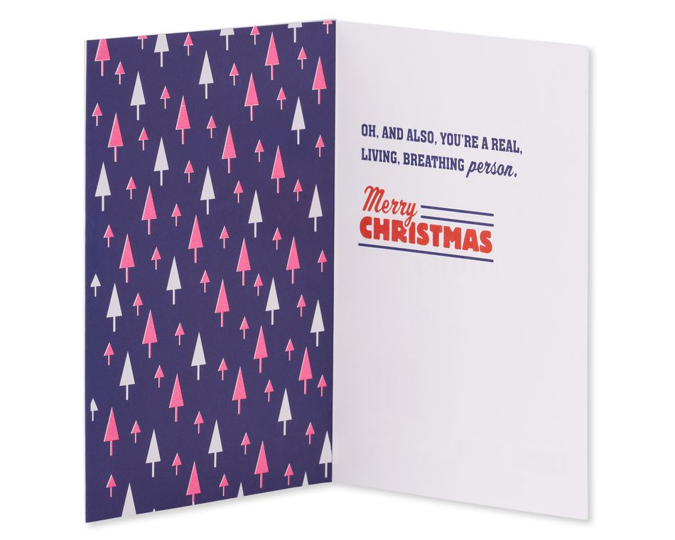Kind and Giving Christmas Card
