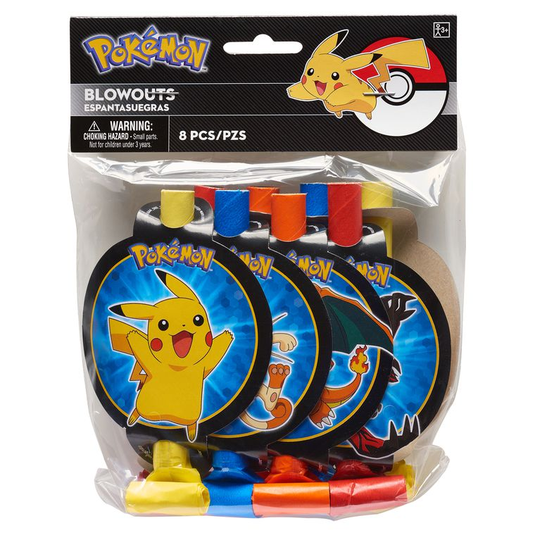 Pokémon 8-Count Party Blowers