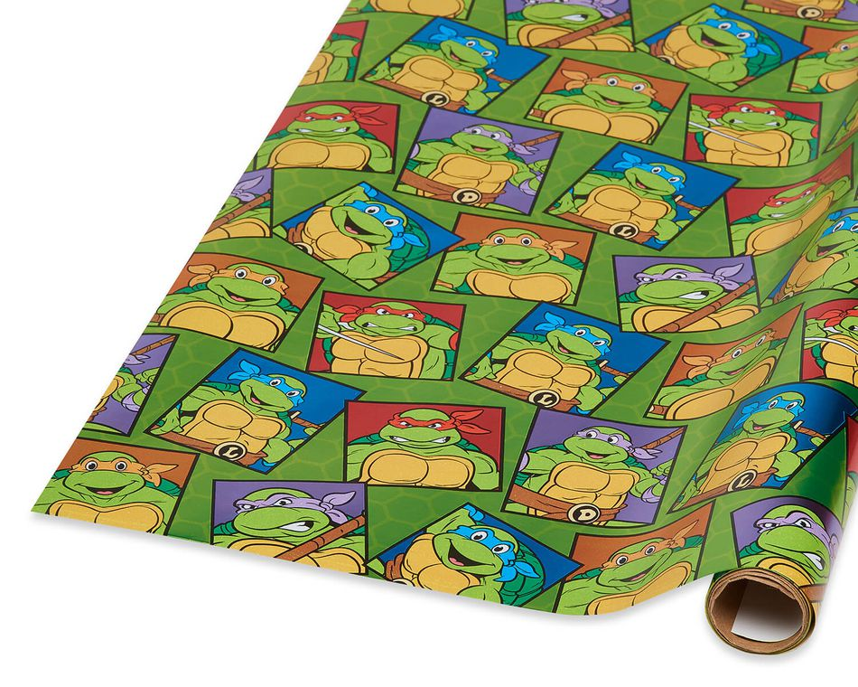 Teenage Mutant Ninja Turtles Wrapping Paper, 15 sq. ft.