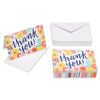Floral Thank-You Cards and White Envelopes, 48-Count