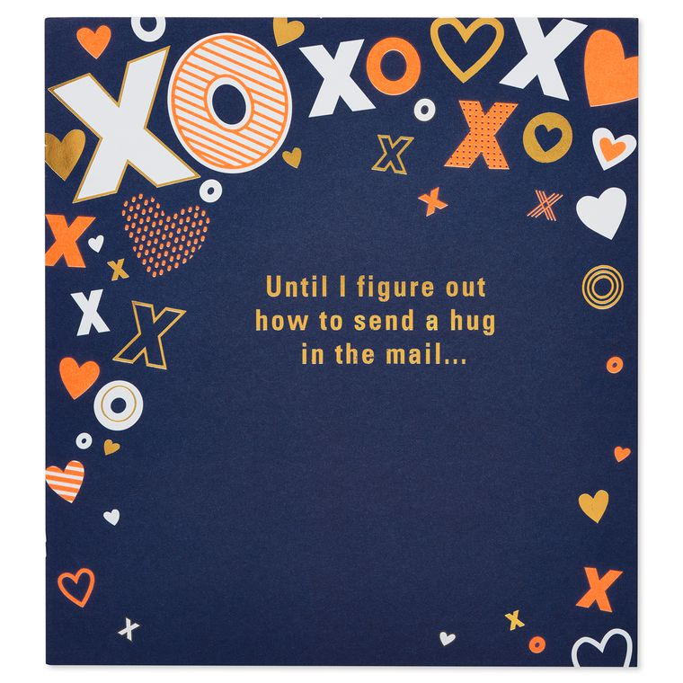XOXO Pop-Up Birthday Card