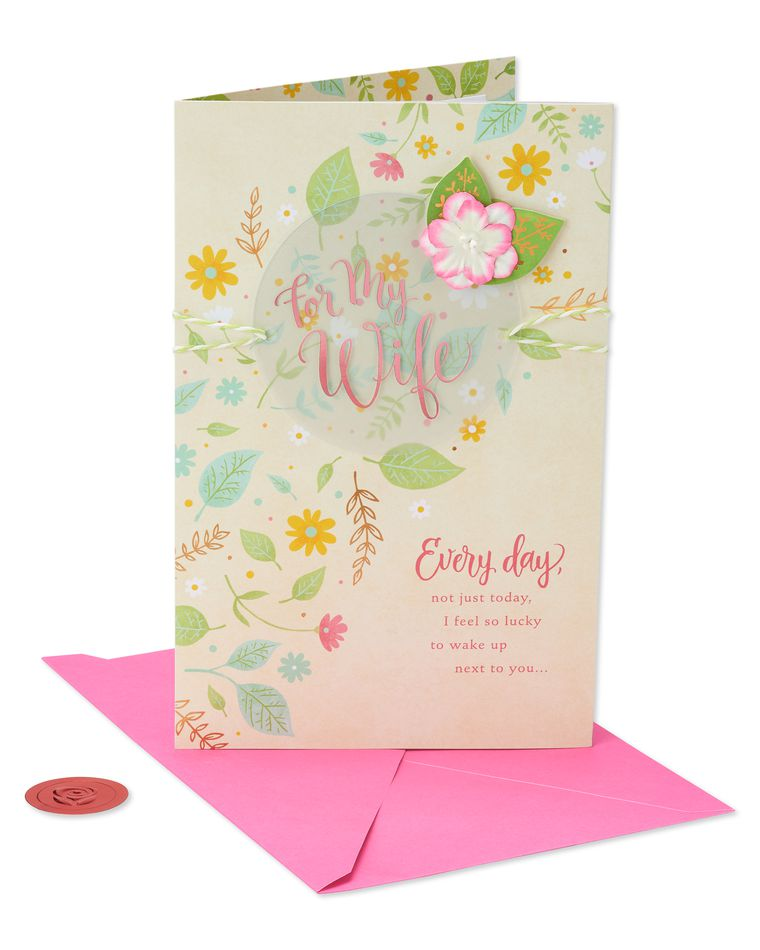 Premier Every Day Mother's Day Card for Wife