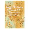 Beautiful Human Birthday Card