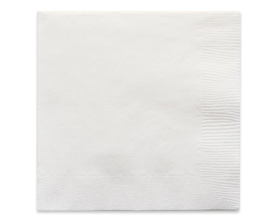 white beverage napkins 50 ct