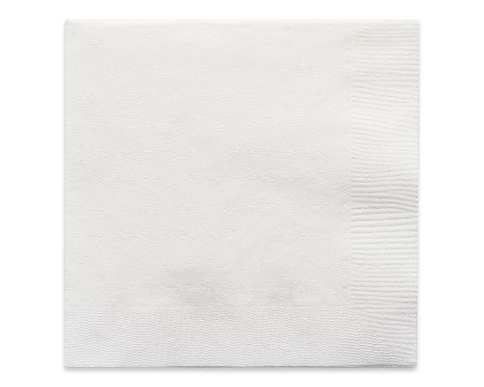 white beverage napkins 50 ct