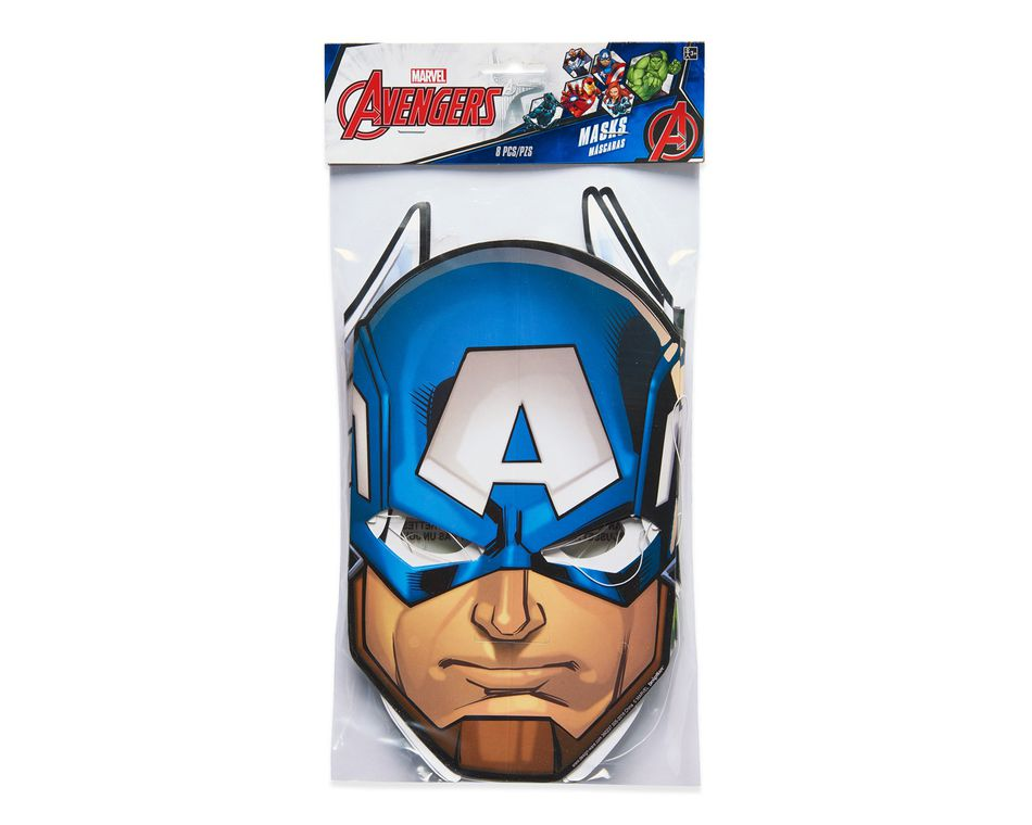 Avengers Epic Masks, 8 Count, Party Supplies