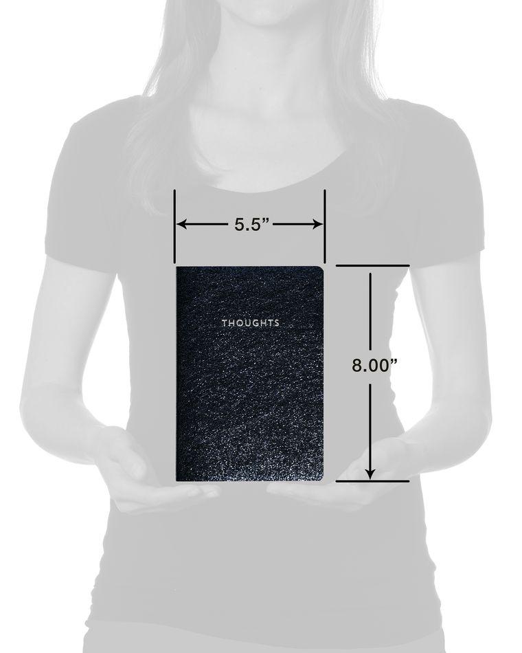 Eccolo Journal Midnight Sparkle UltraFlexi Journal