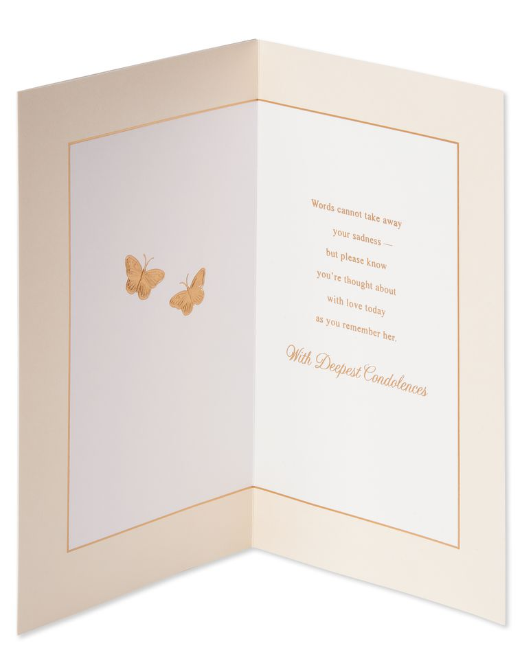 She Was Special Sympathy Card