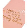 Spewing Happiness Wedding Card