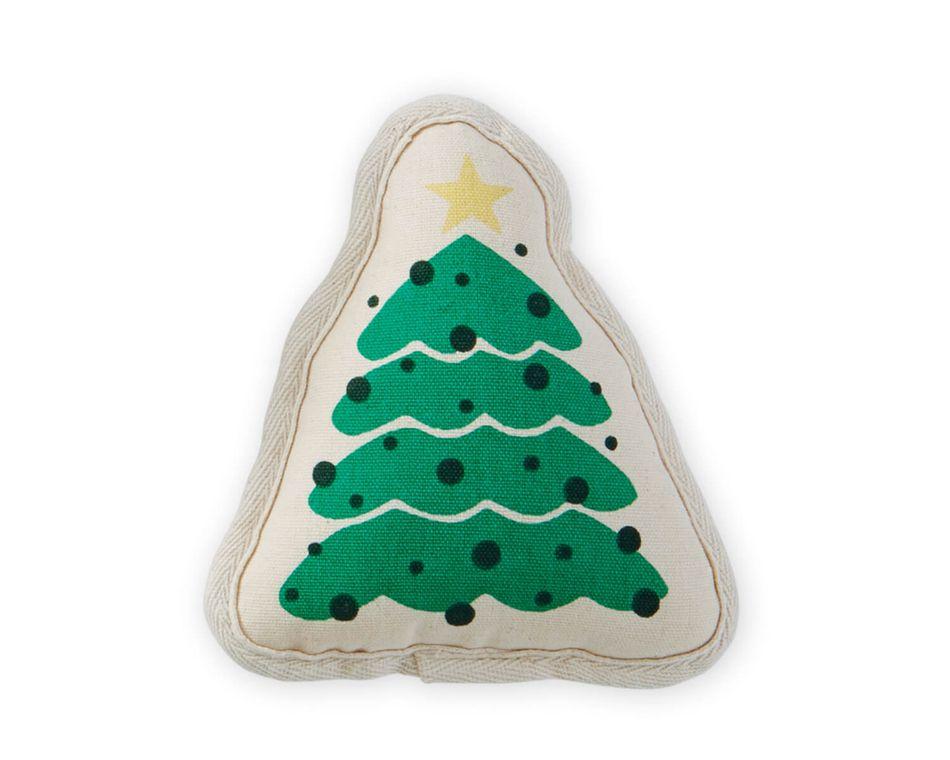 Mud Pie Christmas Tree Dog Toy