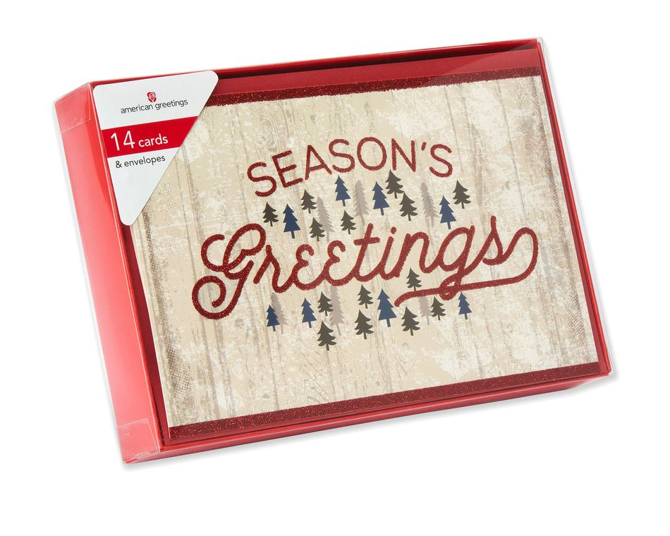 holiday Boxed Cards, 14 Count - American Greetings