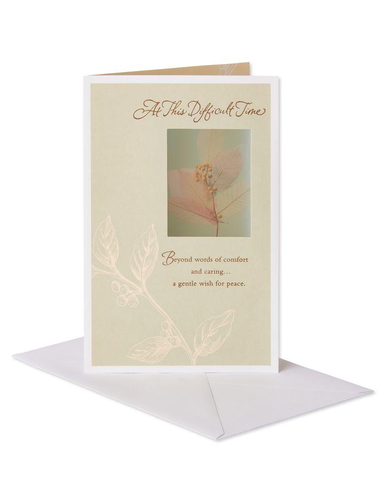 Gentle Wish Sympathy Card