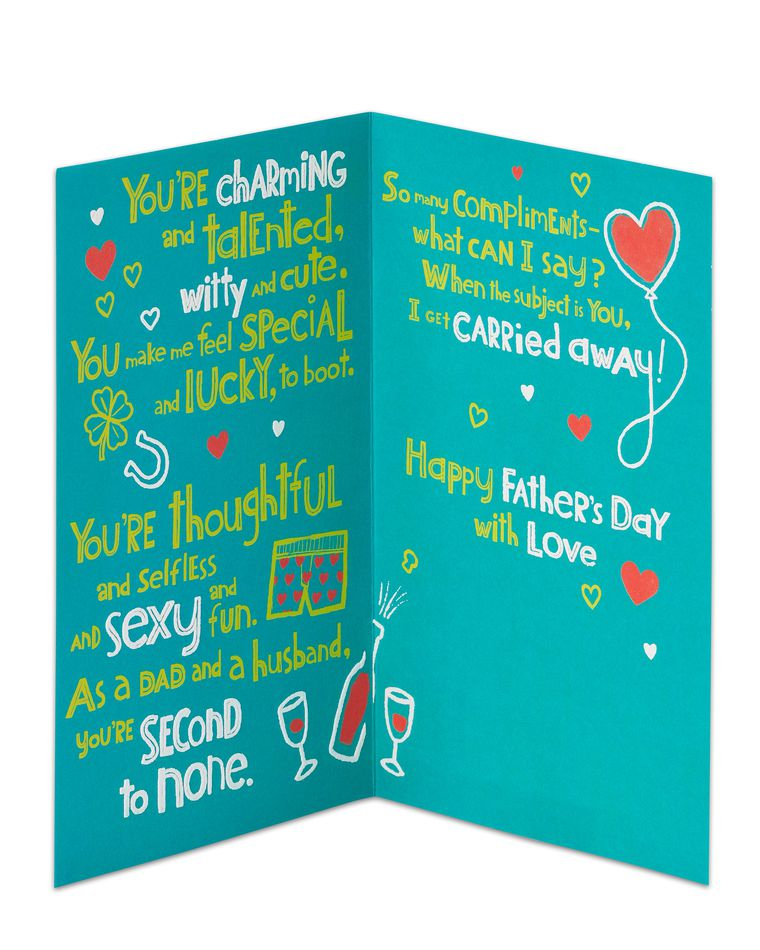 Carried Away Father's Day Card for Husband