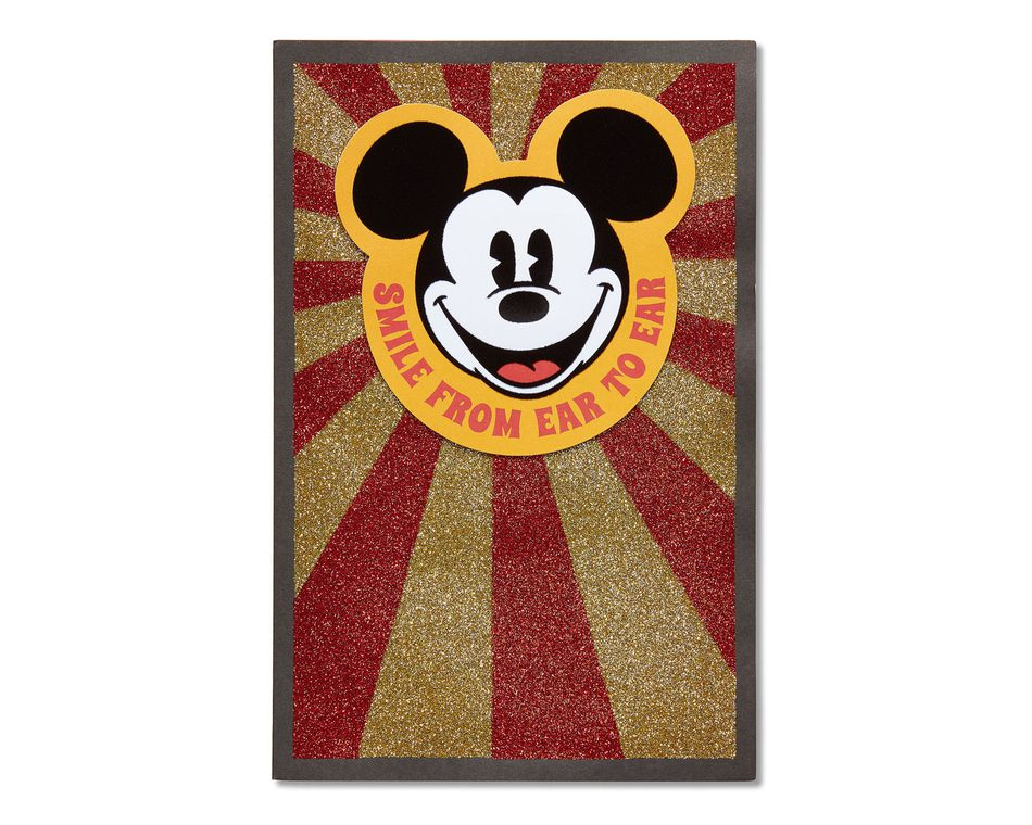 Mickey Mouse Birthday Card American Greetings