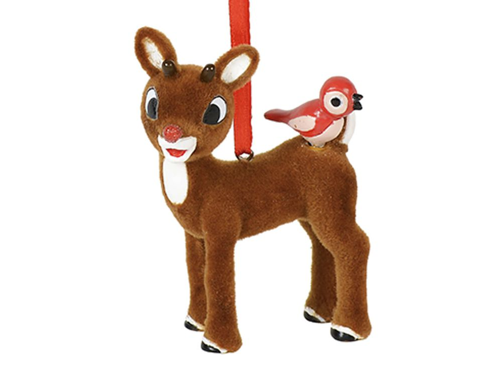Rudolph the Red-Nosed Reindeer Bird Ornament