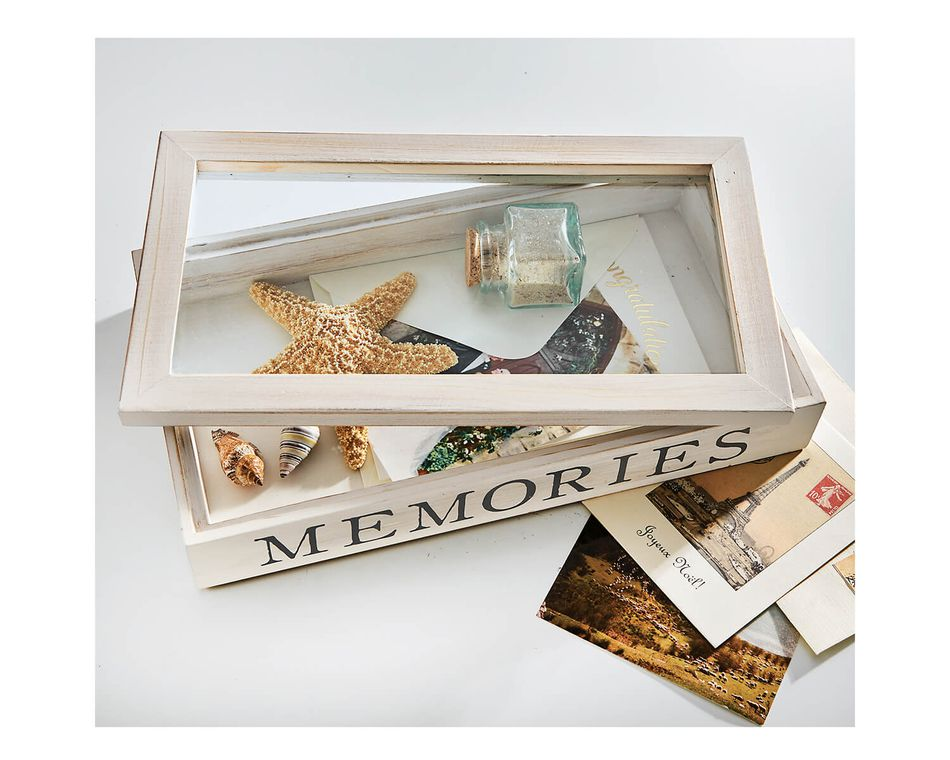 Mud Pie Memory Shadow Box