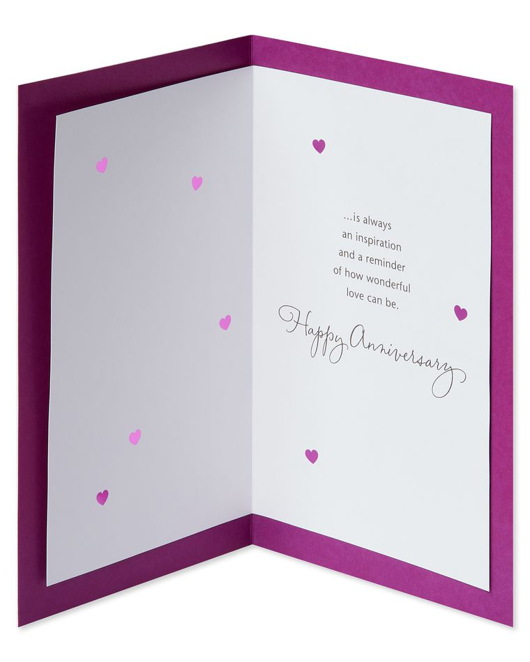 Inspiration Anniversary Card for Parents