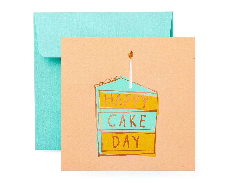 Cake Day Birthday Card